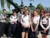Скифовцы на экскурсии в музее военной техники под открытым небом