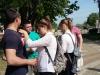 Скифовцы-участники акции Георгиевская ленточка